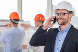 HVAC Plumbers and General Contractors phone service